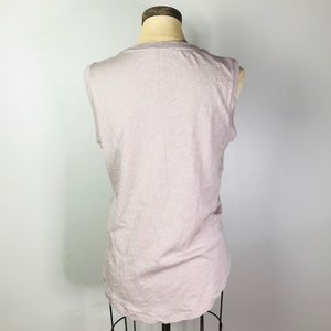 Madewell Tops - MADEWELL whisper cotton Crewneck muscle tank M